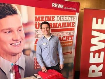 HR Messestand von Rewe