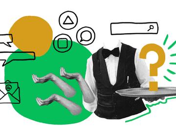 Quiply Mitarbeiter App Interne Kommunikation Illustration 3zu4