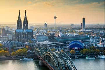 Köln Dom Fernsehturm Hohenzollernbrücke