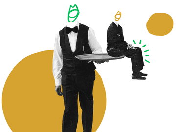 Quiply Mitarbeiter App Mitarbeiterbindung Illustration 3zu4
