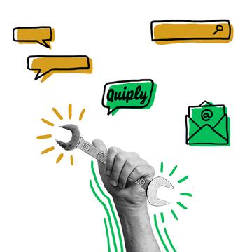 Tools bei Quiply Mitarbeiter-App 1:1