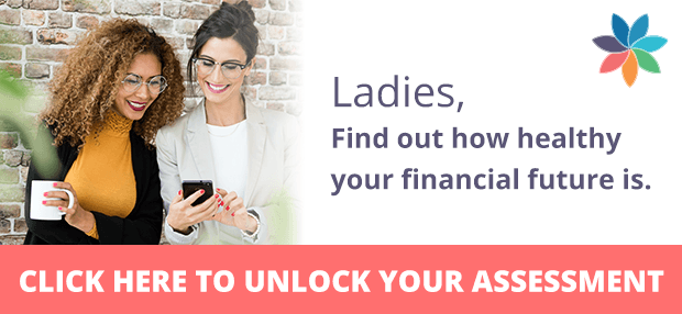 Ladies, find out how healthy your financial future is.
