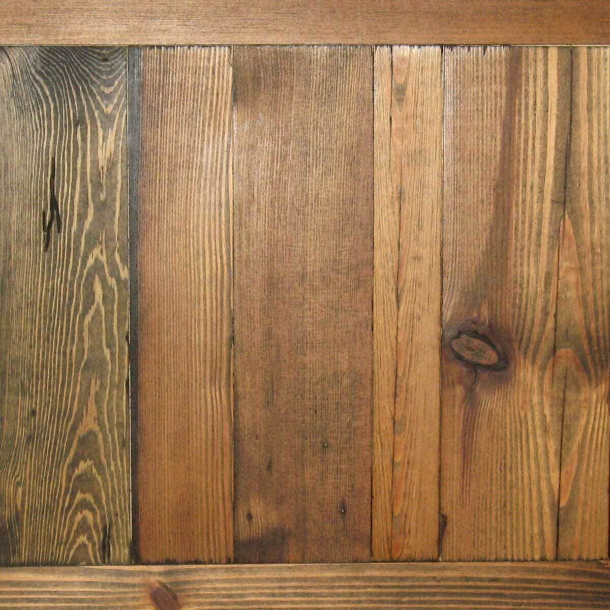Brazil Brown Smooth Heart Pine Cabin wood finish by whole log lumber