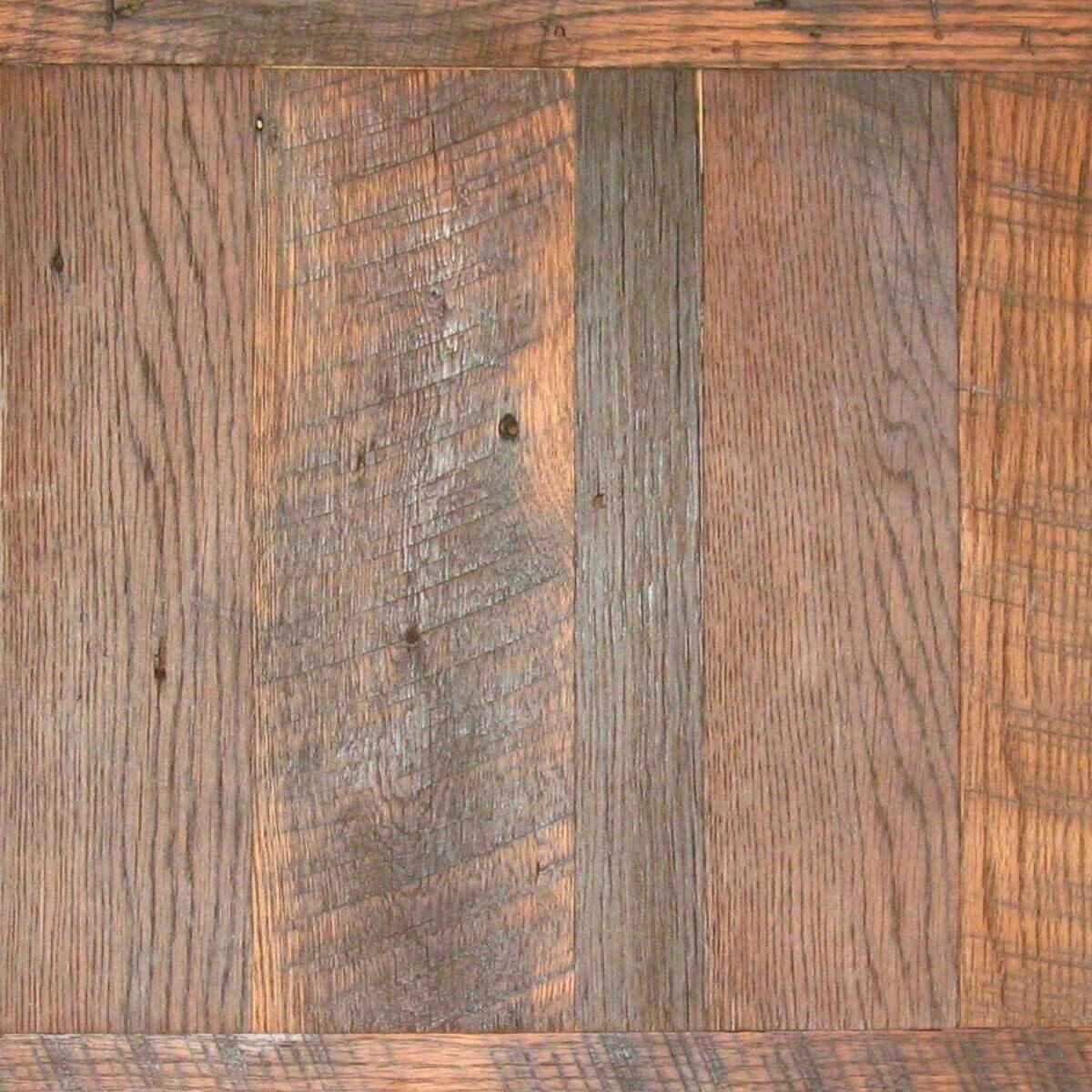 Natural oiled Carolina Character Oak wood finish by whole log lumber