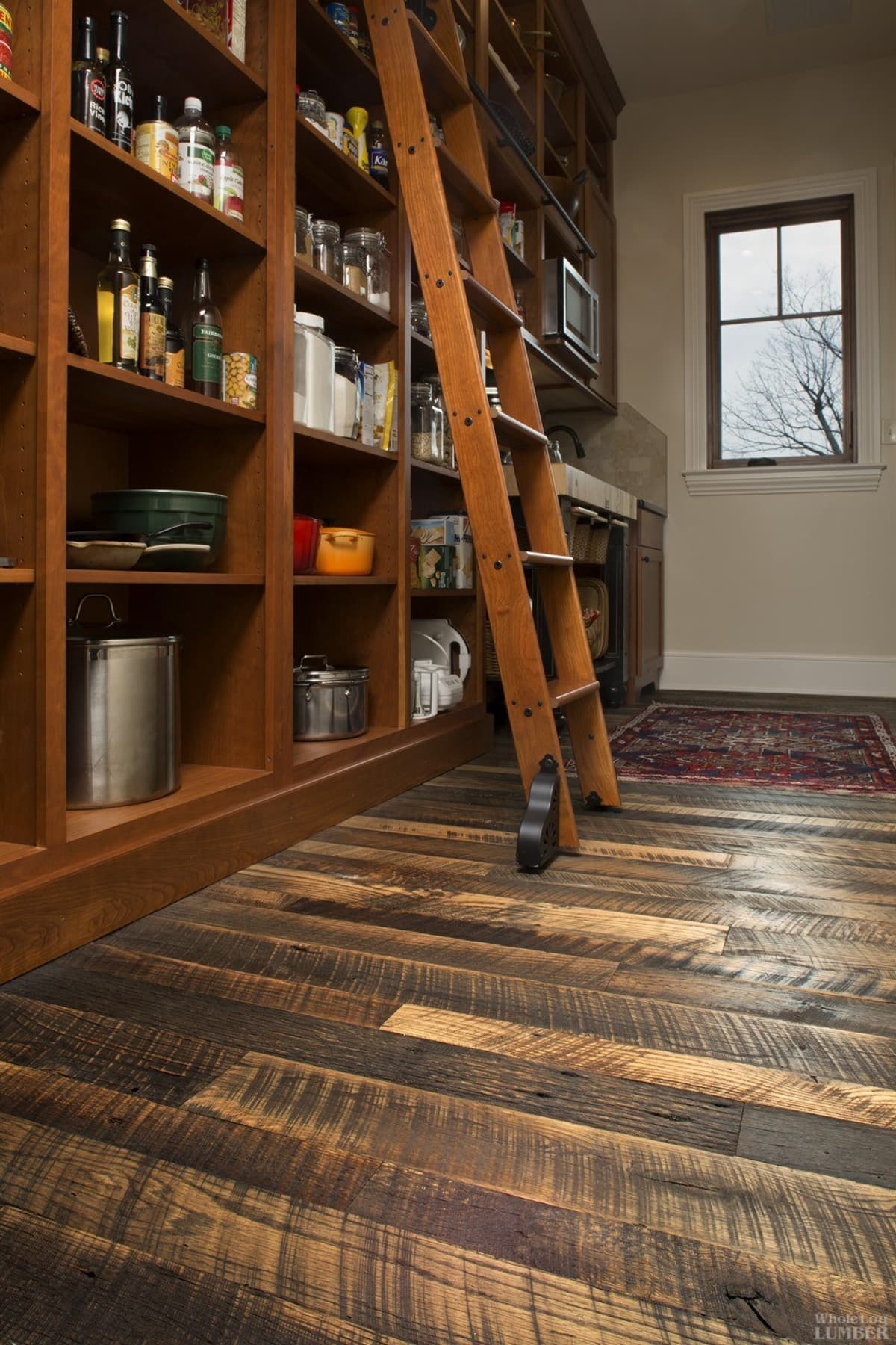 Reclaimed Flooring Character grade Natural Patina Oak Pantry