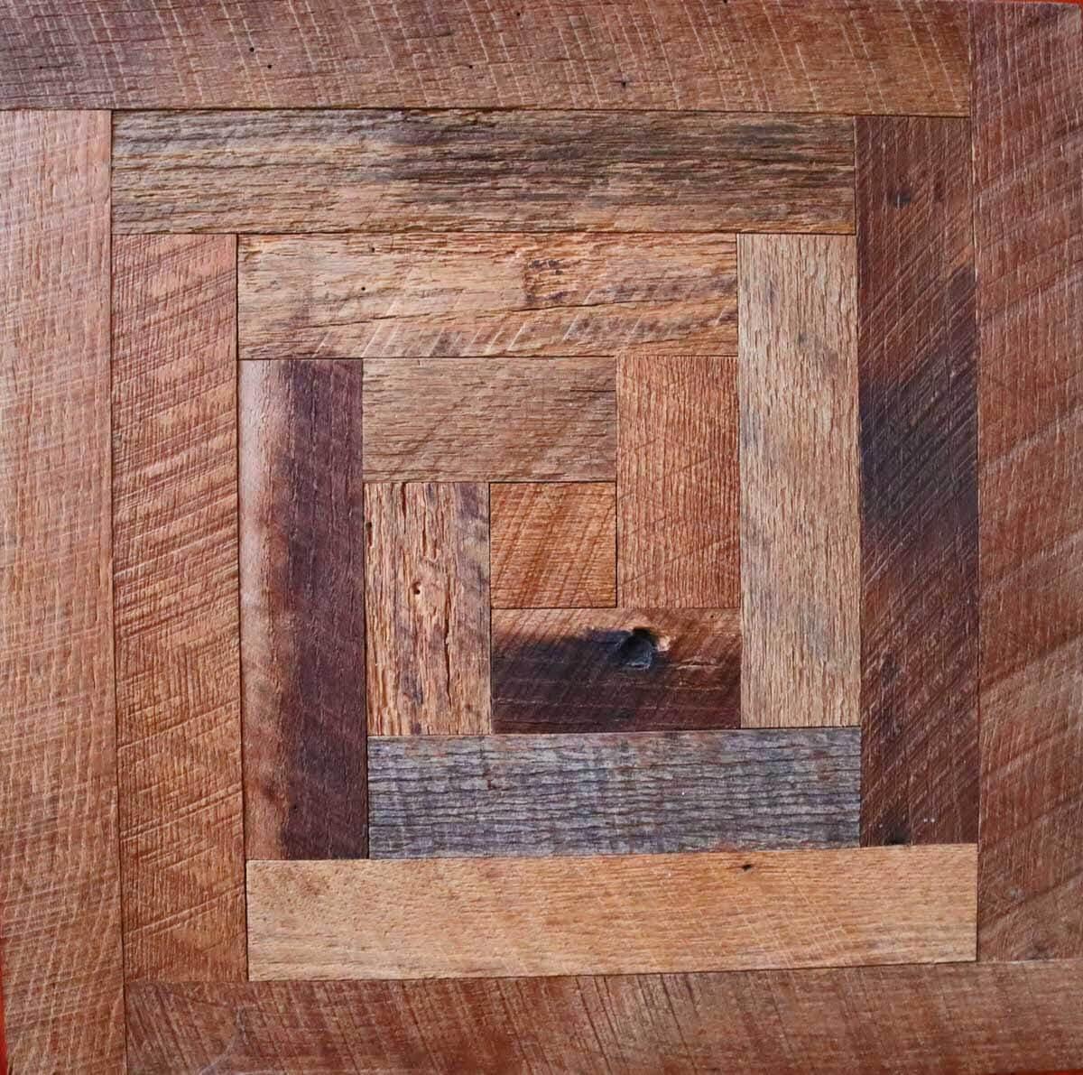 Spiral Square Engineered Tile