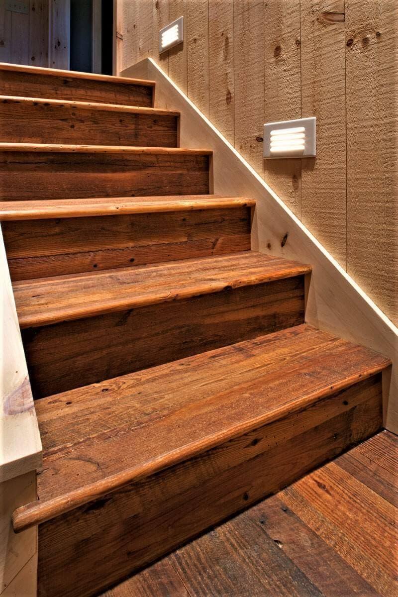Stairs of Georgia Pine