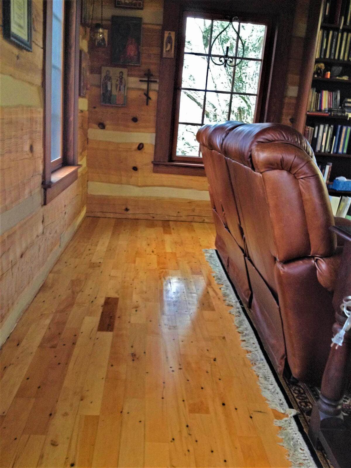 Antique maple flooring near asheville nc
