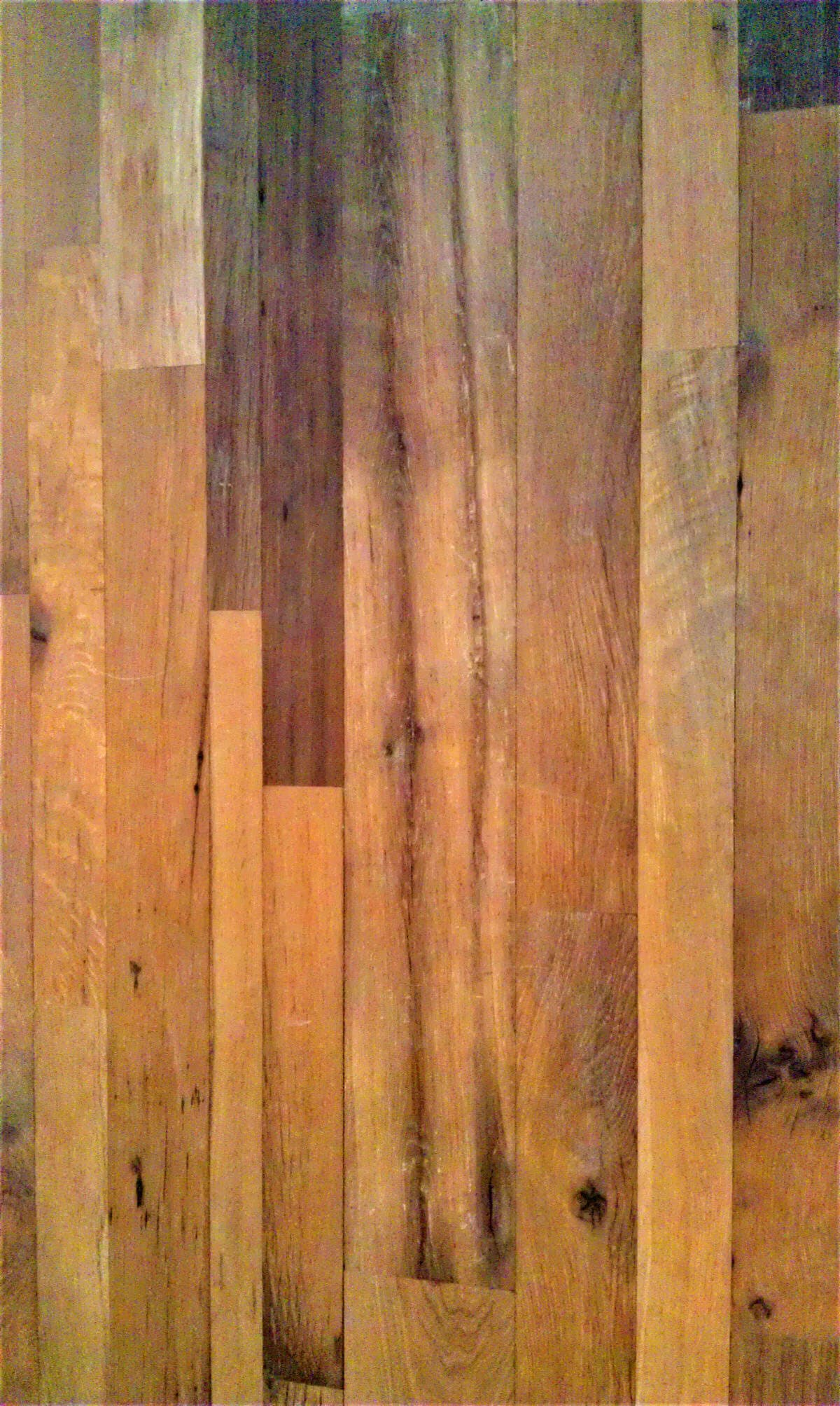 antique white oak random width flooring