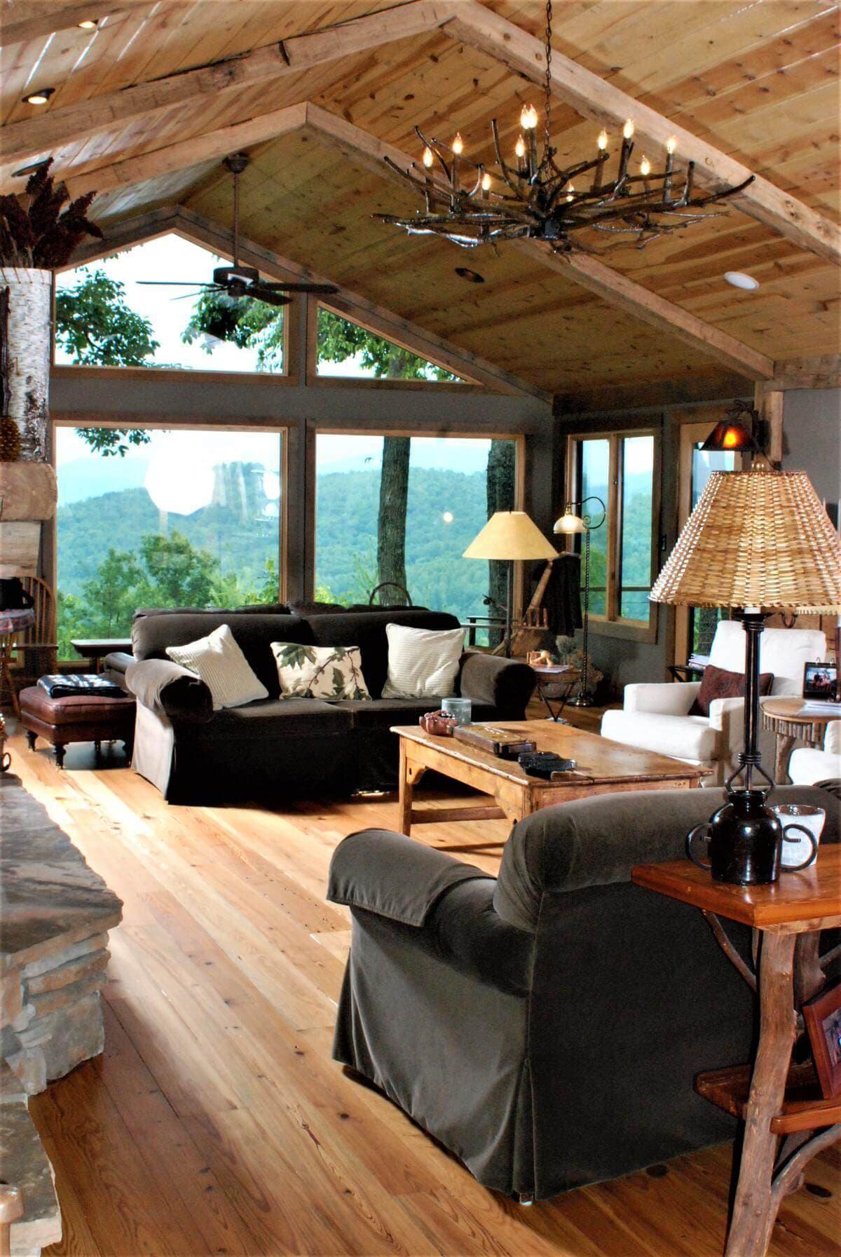 Cabin grade heart pine floor hendersonville nc 3