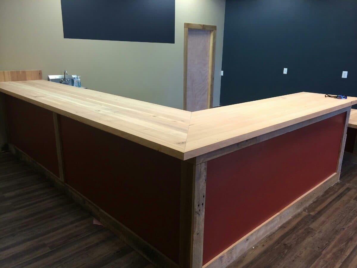 Carolina vapor mill unfinished counter tops, greenville sc