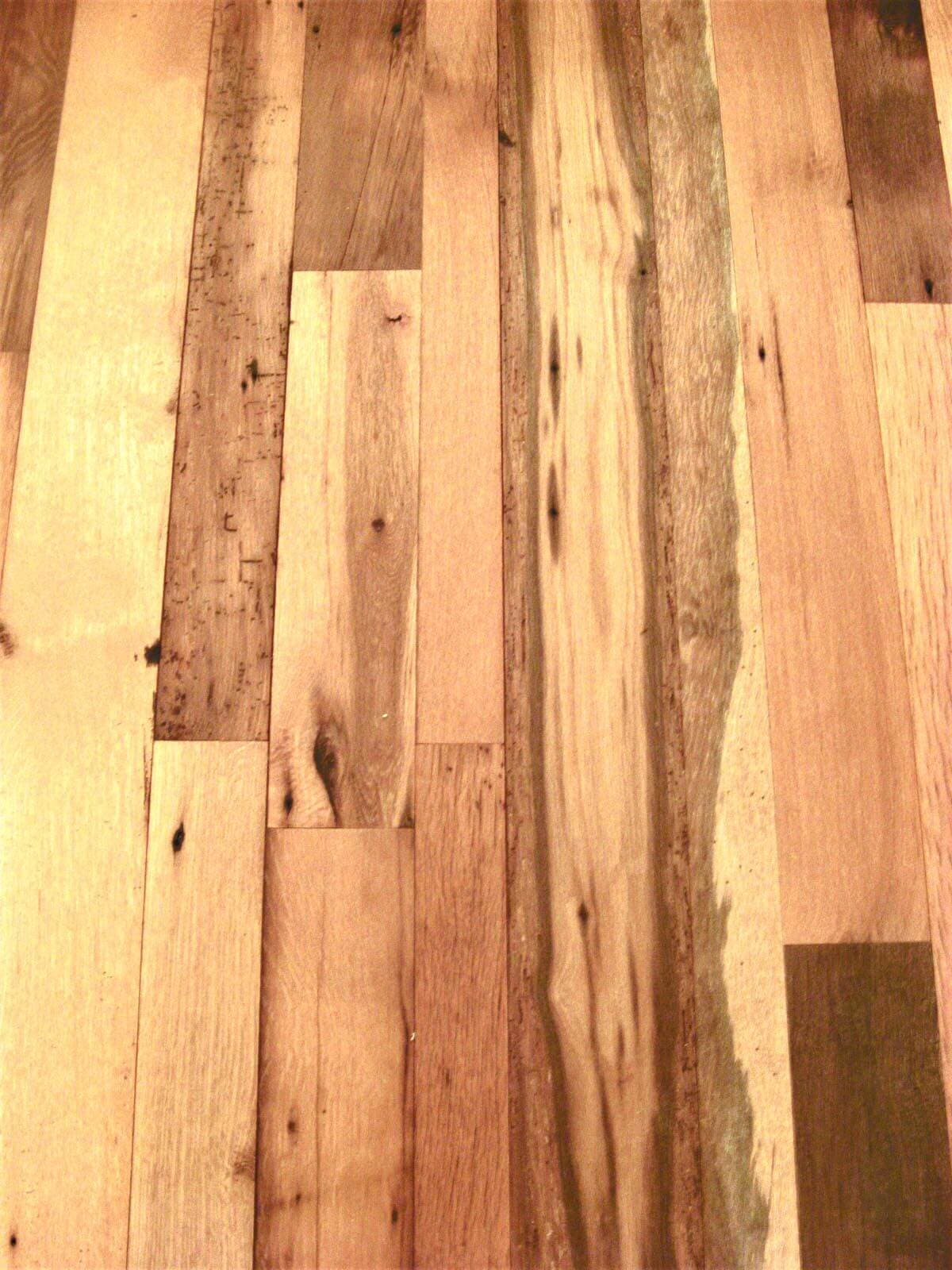 classic mixed hardwood flooring with lively contrasts