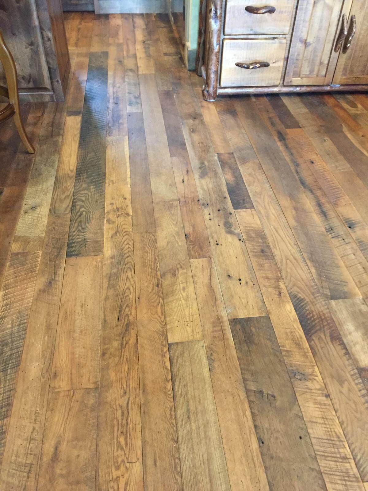 Mtn falls reclaimed hardwoods flooring lake toxaway nc