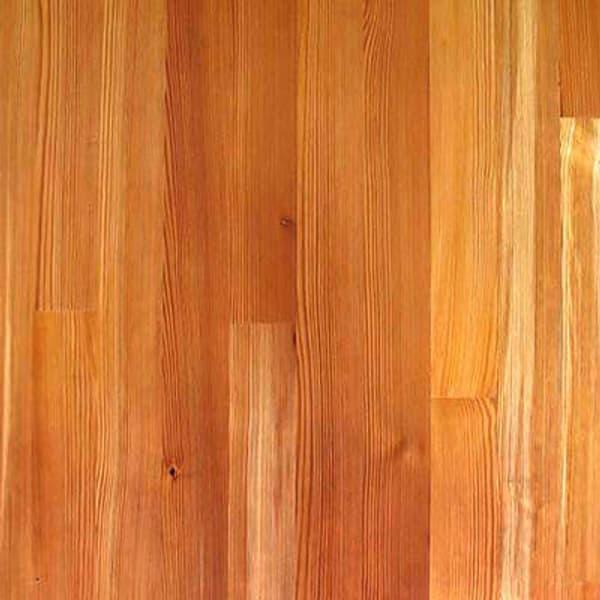 Engineered heart pine flooring swatch.