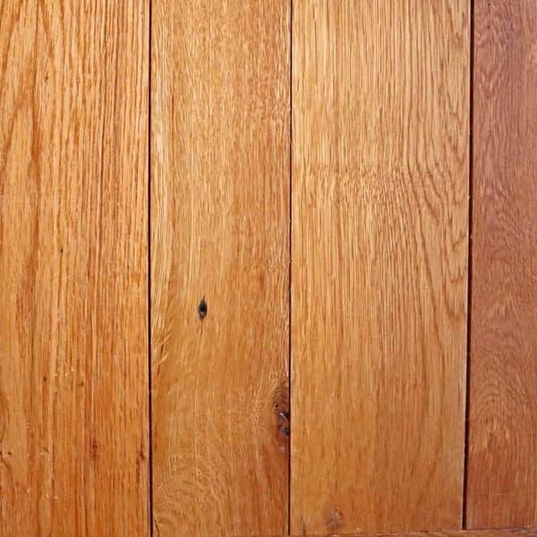 Engineered reclaimed oak flooring swatch