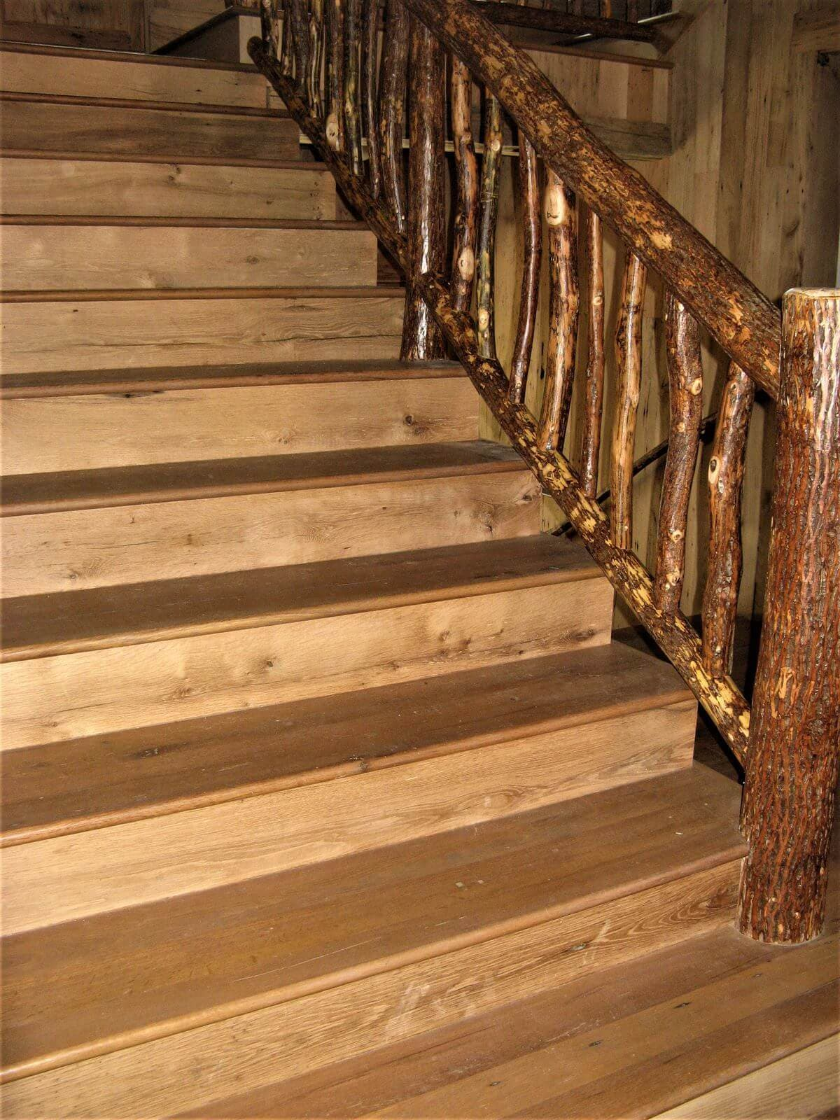 White oak stair treads and risers  in nc