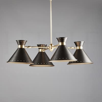Ch80 Tom Chandelier With Spots S
