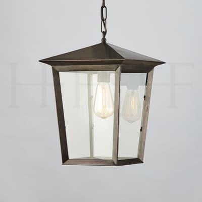 La411 Viktor Hanging Lantern Bronze S