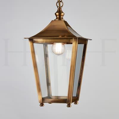 La412 Athena Hanging Lantern Ab S