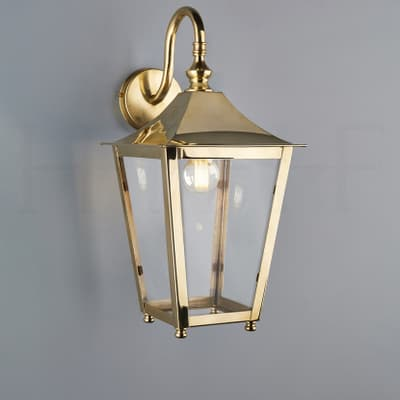 La413 Athena Hanging Lantern On Bracket Ab S
