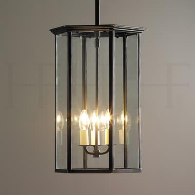 La89 New English Hall Hanging Lantern S