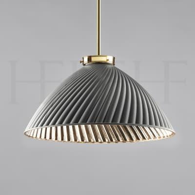 Pl134 L Tiber Large Grey On Brass Rod S