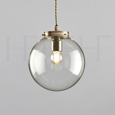 PL142 Hector Mini Globe HF gallery Antique Brass S