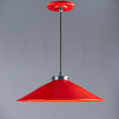 Pl300 M Lucia Pendant Rosso And Gunmetal Low Res S