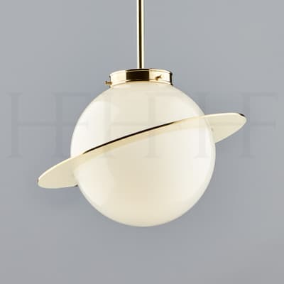 Pl308 Saturn Globe Pendant S