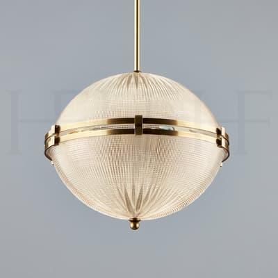 Pl312 Globe Prism Light On Rod S