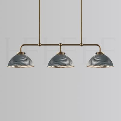 Pl428 S Triple Tiber Pendant Grey Small S