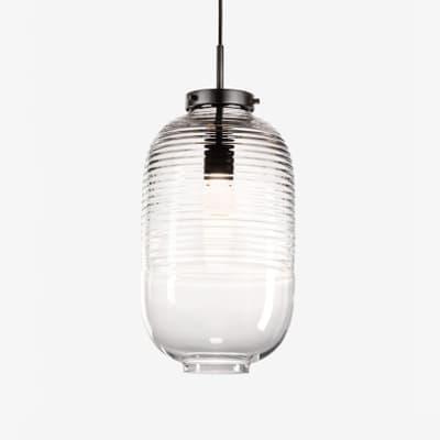 Pl429 Lantern Pendant Clear S
