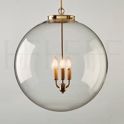 PL85 XL Hector Glass Globe Extra Large AB S