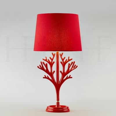 Tl101 Coral Table Lamp Rosso S