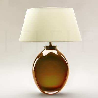 Tl125 Giacomo Amber Table Lamp 2 S