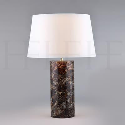 Tl155 Tiger Cowrie Table Lamp S