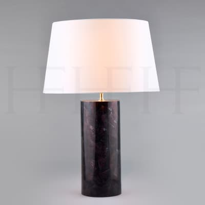 Tl157 Violet Oyster Shell Table Lamp S