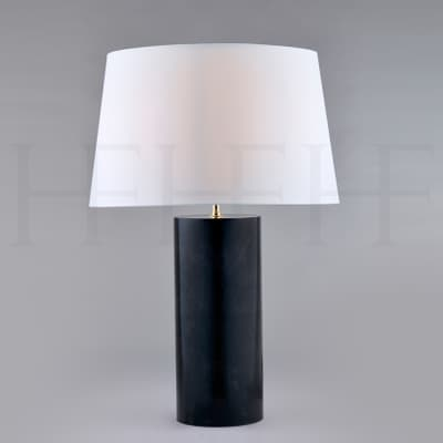 Tl159 Charcoal Parchment Table Lamp S