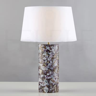 Tl161 Lilac Cowrie Table Lamp S