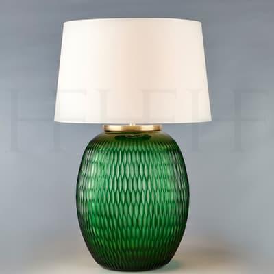 Tl166 M Mala Table Lamp Large Emerald Diamond S