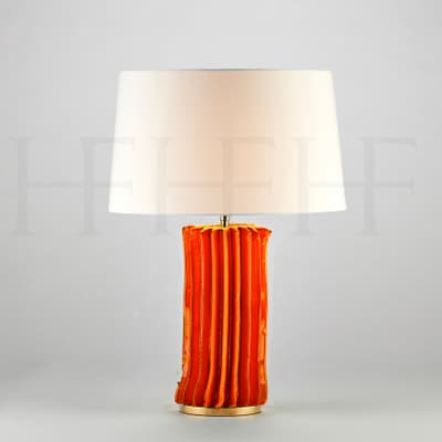 Tl172 S Cactus Table Lamp Arancio Small S