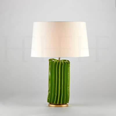Tl172 S Cactus Table Lamp Verde Small S