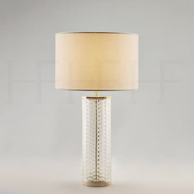 Tl60 Clear Honeycomb Glass Table Lamp S
