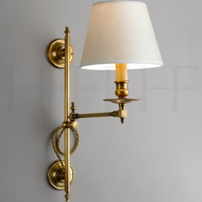Wl182 Hector Swing Arm Wall Light Vertically Adjustable S