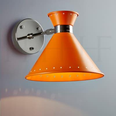 Wl259 Tom Wall Light Arancio With Switch S