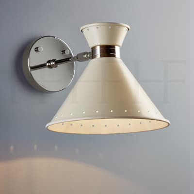 Wl259 Tom Wall Light Natural With Spots S