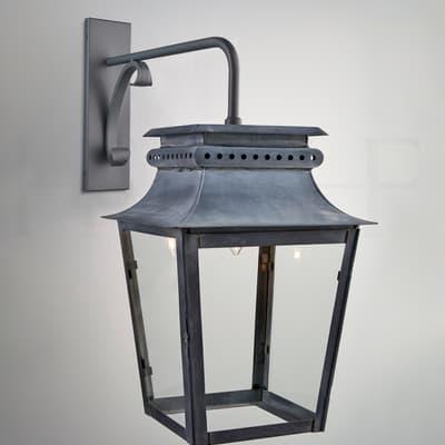 Wl293 L Zeus Lantern On Bracket Large S
