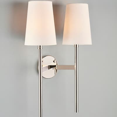 Wl307 Guinevere Wall Light Double S