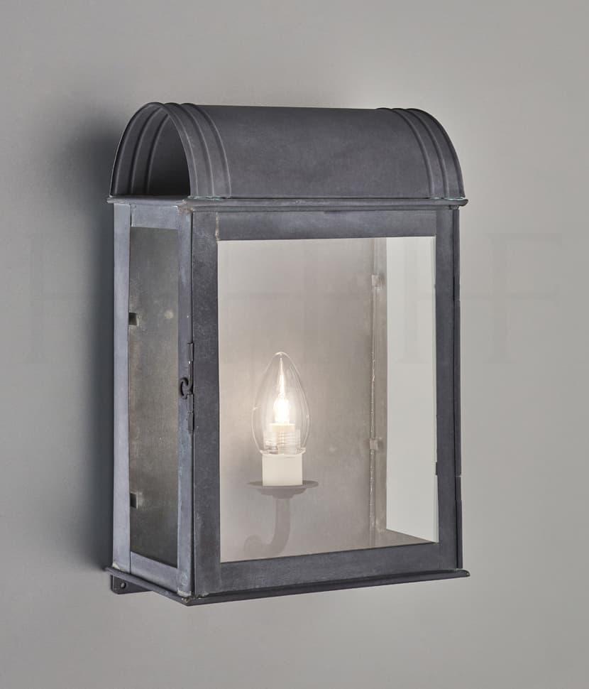 Wl334 L Clio Wall Lantern Zinc S