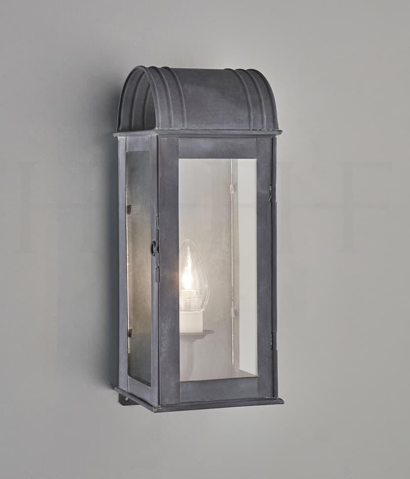 Wl334 S Clio Wall Lantern Zinc S